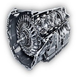 automatic-transmission gearbox